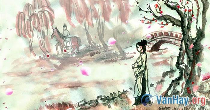 Viết về tác phẩm Chinh phụ ngâm khúc (Đặng Trần Côn) có ý kiến cho rằng: Chinh phụ ngâm khúc phản ánh một vấn để nóng hổi của thời đại của nhân dân. Tác phẩm là lời than thở triền miên da diết của người phụ nữ có chồng ra trận. Hãy làm sáng tỏ ý kiến trên