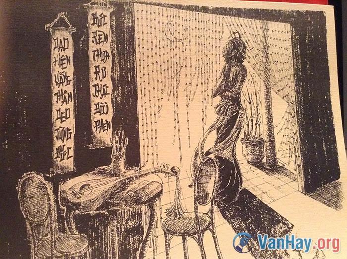 Chinh phụ ngâm là lời than thở triền miên, da diết của người phụ nữ có chồng ra trận