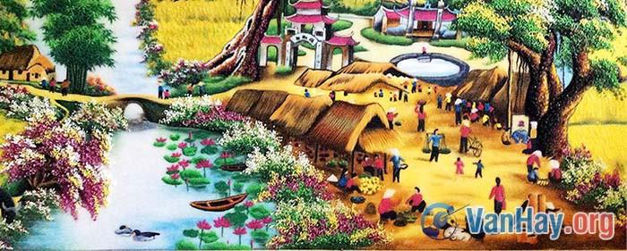 Nguyễn Trãi đã chủ động hướng lòng mình về với chợ cá, làng ngư phủ