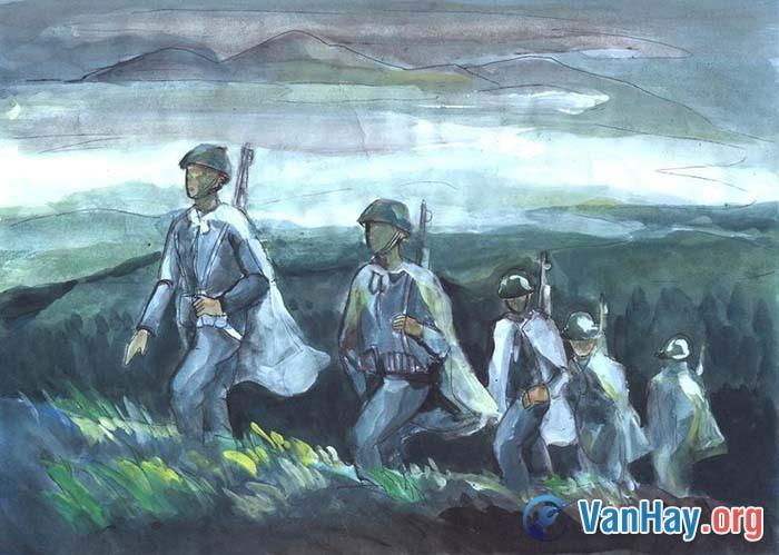 Bình giảng đoạn thơ sau trong bài Tây Tiến của Quang Dũng: Sông Mã xa rồi Tây Tiến ơi!... Mai Châu mùa em thơm nếp xôi
