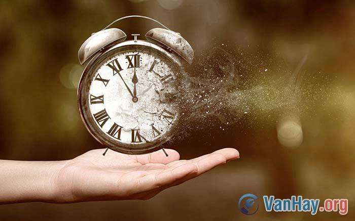 Nghị luận: Đừng vung phí thì giờ